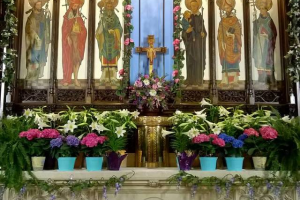 The Easter Altar